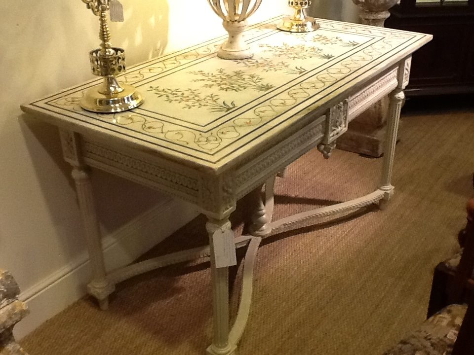 French Marble Table Oxfordshire Antiques