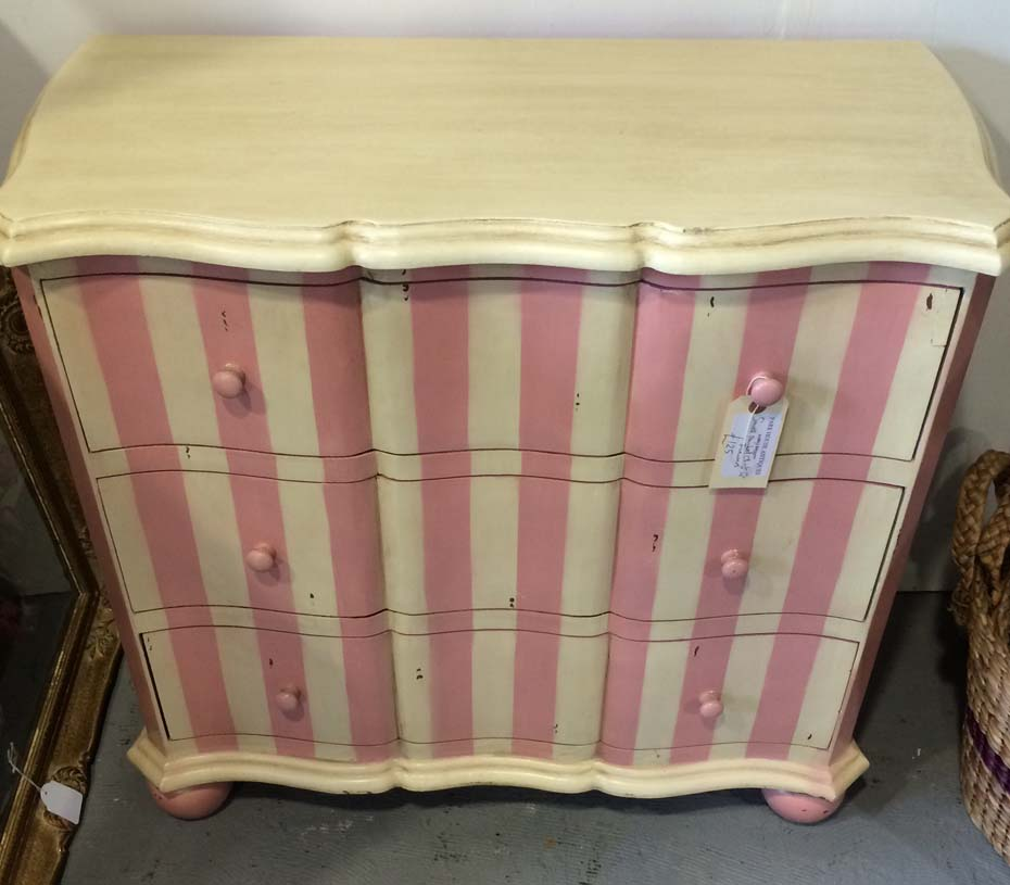 Small Painted Chest Of Drawers Unit