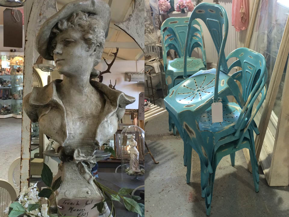 Garden Furniture and Statue