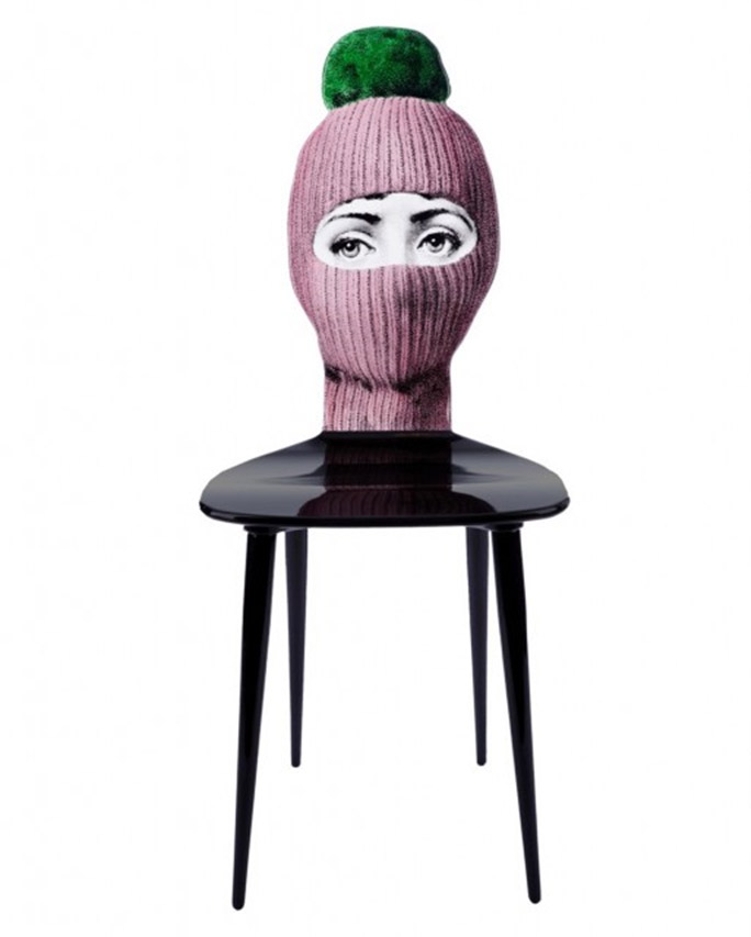 Wooden Chair by Fornasetti