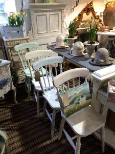 Pastel Painted Chairs Unit 21 Interiors & Pastel Painted Chairs Unit 21 Interiors - Antiques Vintage ...
