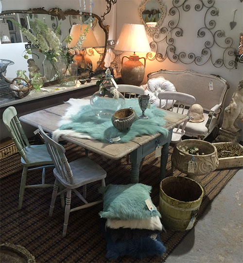 French Farmhouse Table & Chairs, Unit 21 Interiors