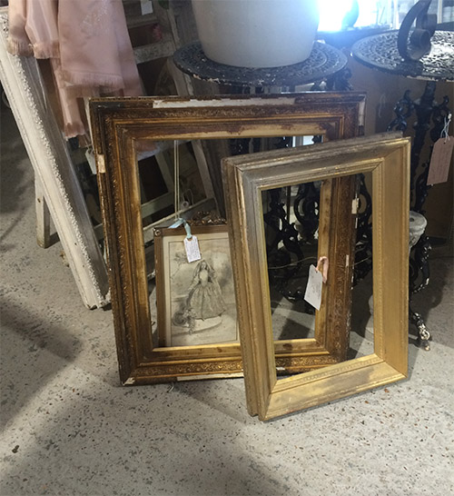 Gold Vintage Frame, Unit 30 Interiors