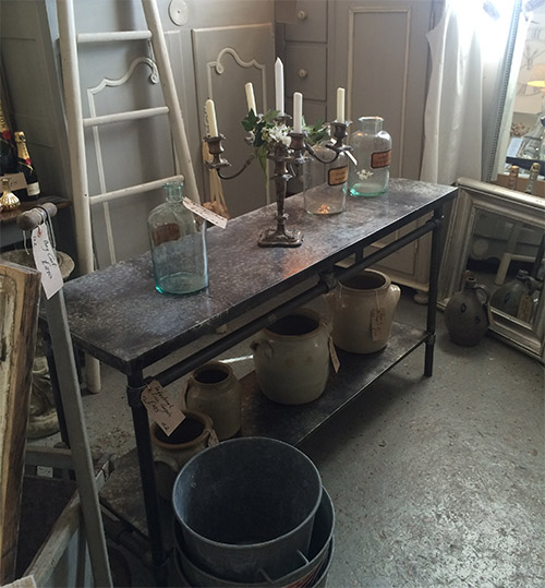Industrial Zinc Console, Unit 2 Interiors