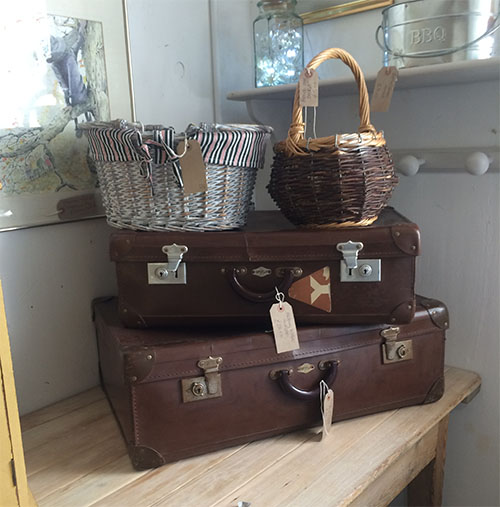 Leather Suitcases, Unit 18 Vintage