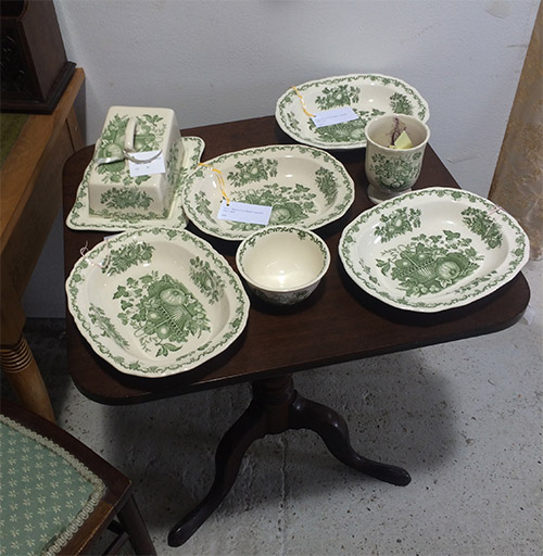 Masons Dish Collection, Unit 32 Vintage