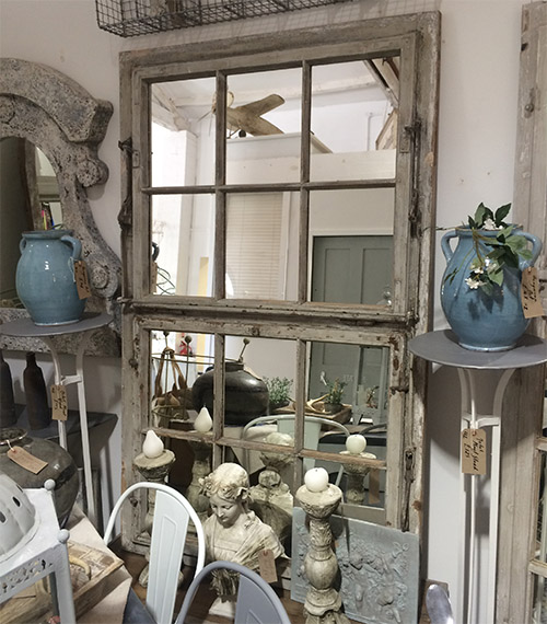 Stunning Window Mirror, Unit 14 Interiors