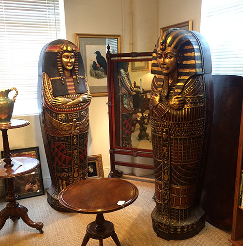 6ft TutanKhumun Cabinets, Unit 54 Antiques