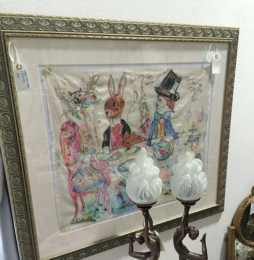 Alice in Wonderland Embroidery, Unit 26 Vintage