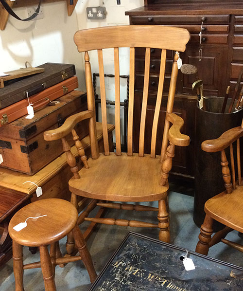 Beech Rocking Chair, Unit 37 Vintage