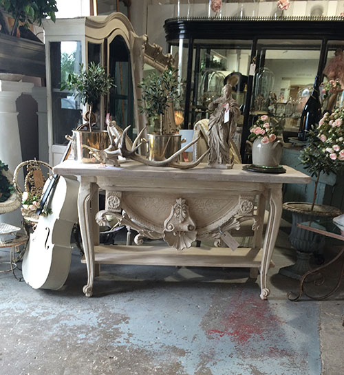 Carved Console Table, Unit 30 Interiors