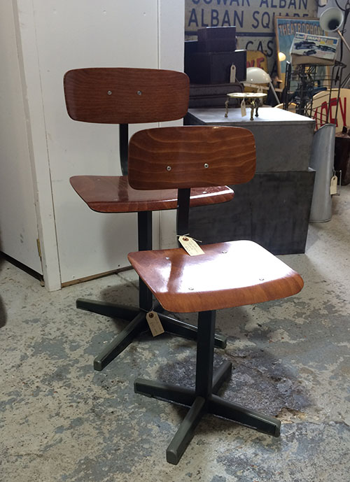 Childs Industrial Chairs, Unit 35 Vintage