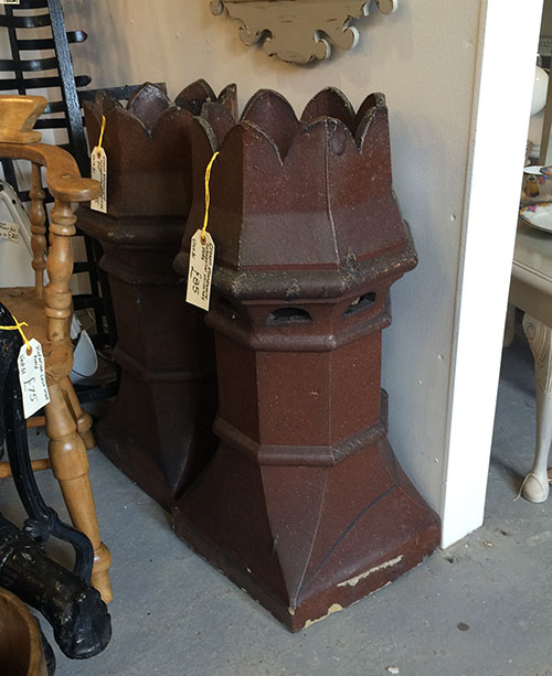 Crown Stoneware Octagonal Chimney Pots, Unit 51 Interiors