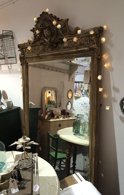 French Floor Standing Mirror, Unit 22 Interiors