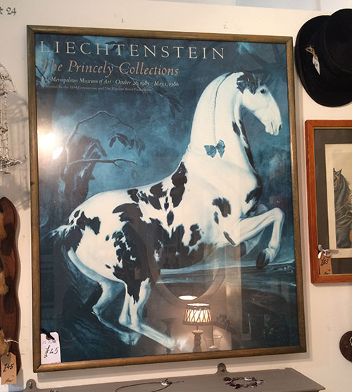 Horse Poster, Unit 30 Vintage