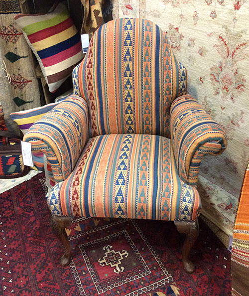 Kilim Chair, Unit 27 Interiors