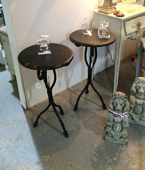 Lamp Tables, Unit 15, Interiors