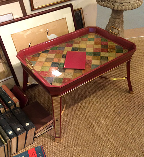Rosewood William IV Writing Table, Unit 54 Antiques