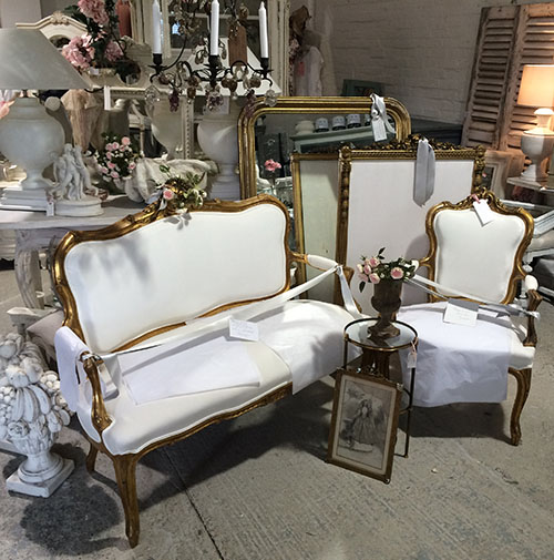 Stunning French Seating & Mirrors, Unit 30 Interiors