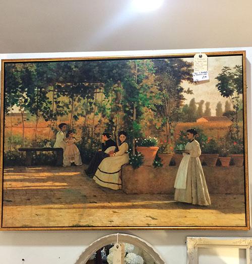 Summer Painting, Vintage