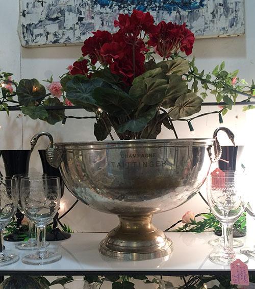 Taitinger Champagne Bowl, Unit 45 Vintage