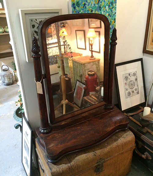Victorian Mirror, Unit 25 Antiques