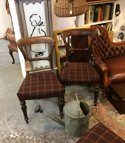 Four Victorian Kitchen Chairs G jackson, Unit 40 Interiors