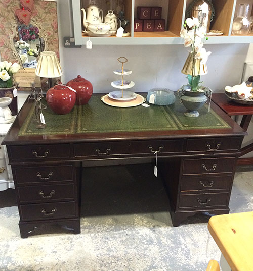 Mahogany Desk, Unit 3 Vintage