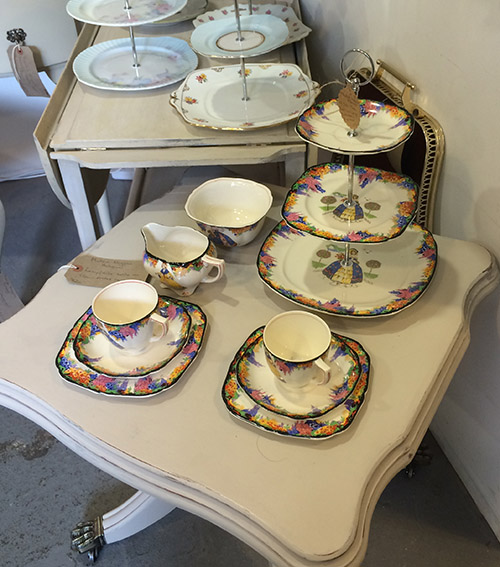 Matilda Miggins Tea Set, Unit 50 Vintage