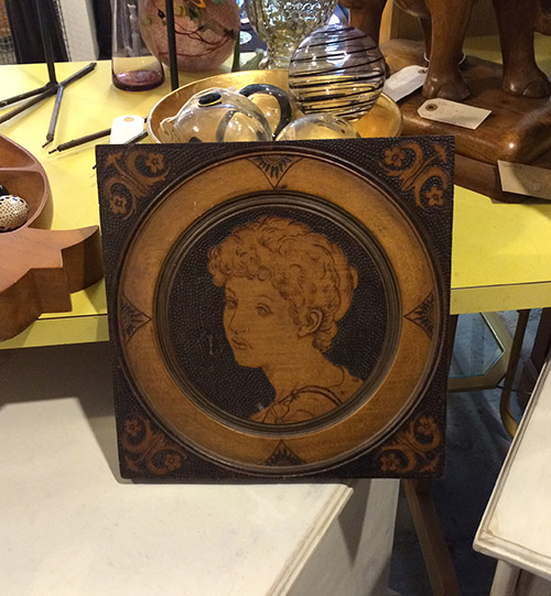 Polygraphic Portrait, Unit 57 Antiques