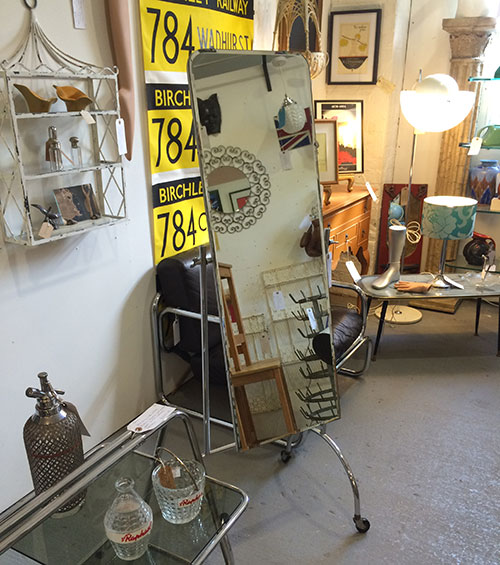 Cheval Free Standing Mirror, Unit 55 Vintage