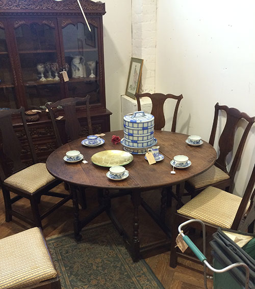 6 Georgian Dining Chairs, Unit 56 Antiques