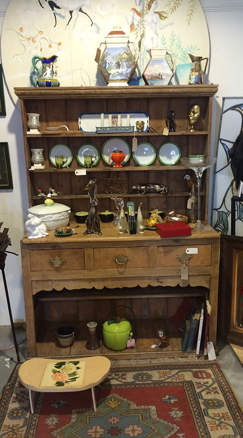 Victorian Pine Dresser, Unit 57 Antiques