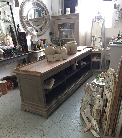 French Counter Kitchen Island, Interiors