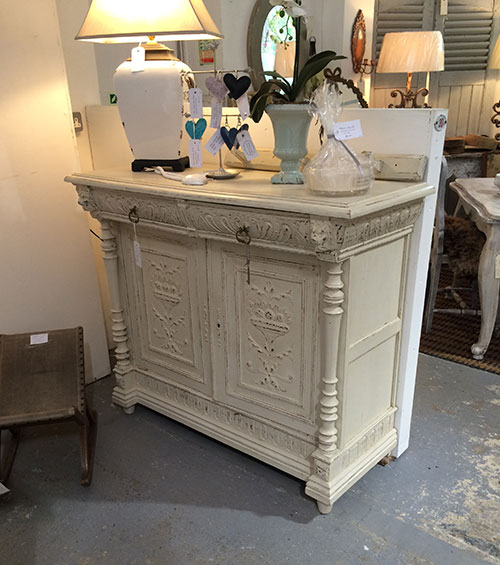 French Carved Buffet Table, Interiors