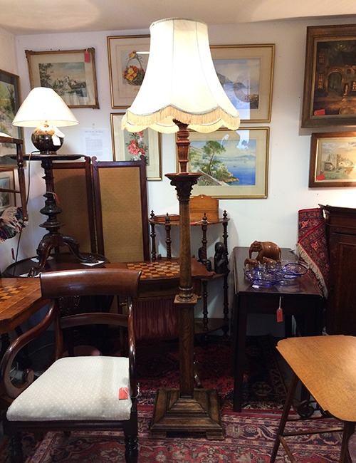 C19 Standard Lamp, Unit 41 Antiques