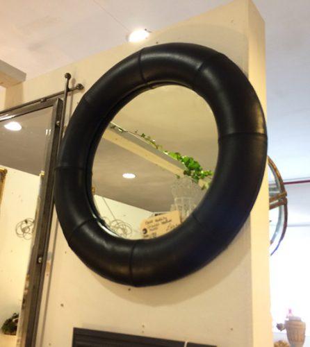 circular-leather-black-mirror-unit-52-vintage