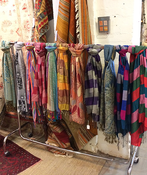 Colourful Scarves, Unit 27 Vintage