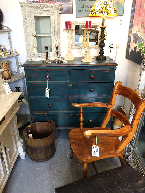 Distressed Painted Chest or Drawers, Unit 51 Interiors