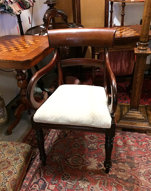 Edwardian Elbow Chair, Unit 41 Antiques