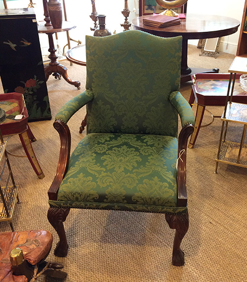 George III Style Mahogany Chair, Unit 54 Antiques