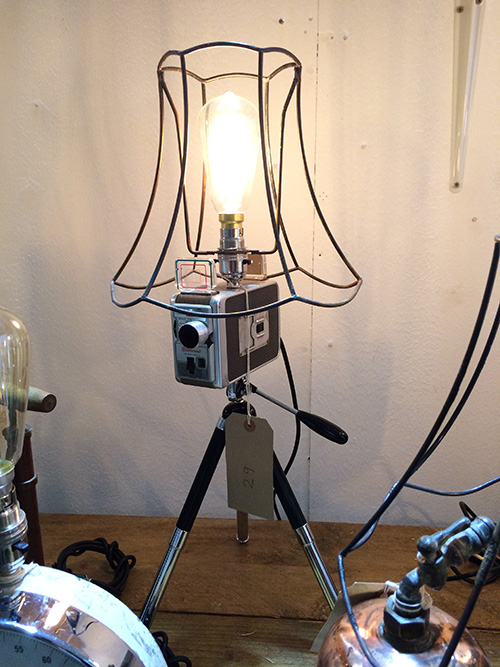 Kodak Brownie Lamp, Unit 29 Vintage