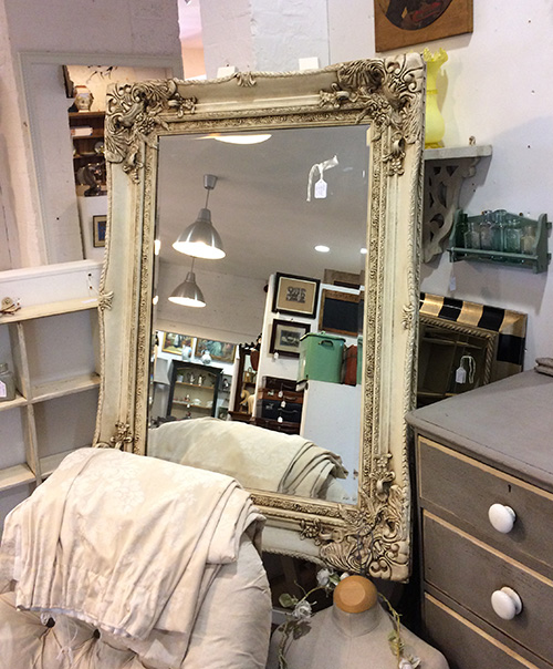Large White Mirror, Unit 46 Interiors