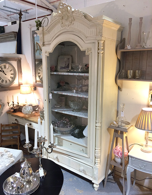 Victorian French Armoire, Unit 12 Interiors