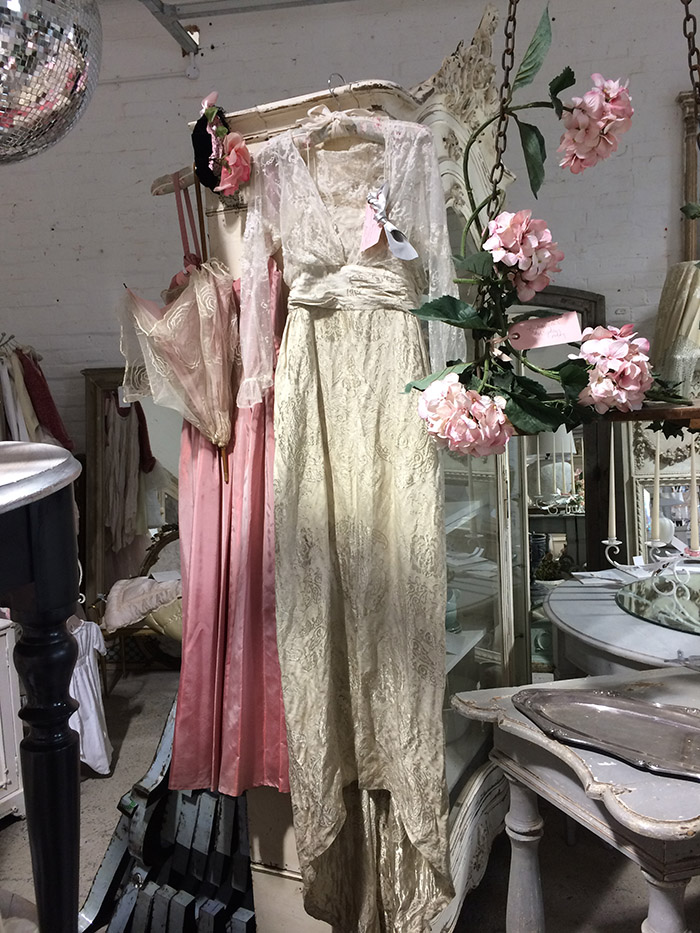 1920's wedding gown, Unit 30 Vintage