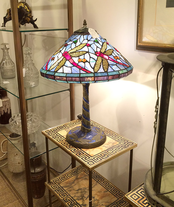 Dragon Fly Lamp, Vintage