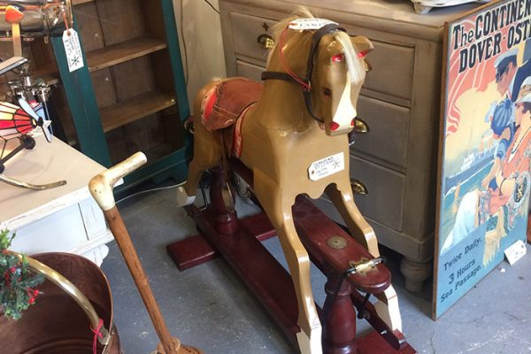 French Rocking Horse, Unit 51 Vintage