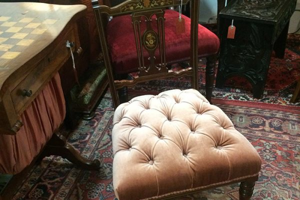 Late victorian nursing chair, Unit 41 interiors