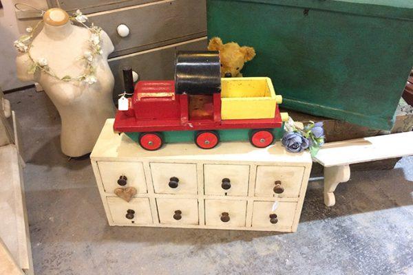 model train, Vintage